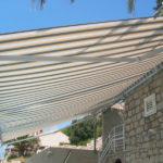 Foto gallery tenda da sole con bracci modello 8000 Jumbo BB