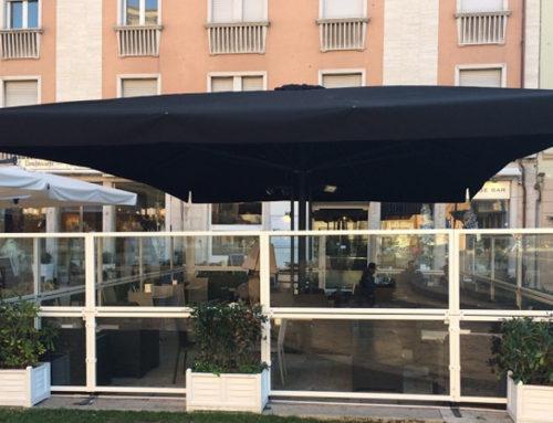 Paravento Taormina per bar e ristoranti