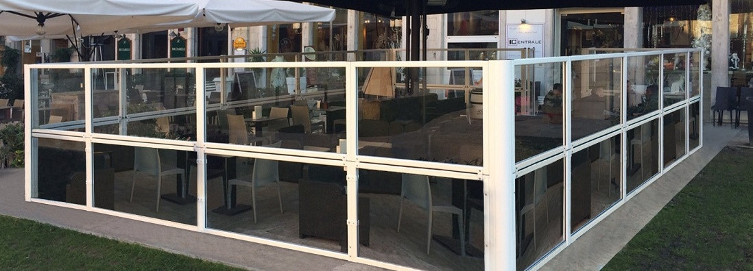 Paravento Taormina per l\'esterno di bar e ristoranti | dsedute