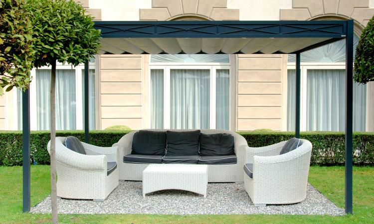 Gazebo domus with copertura giardino - Coperture per mobili da giardino ...