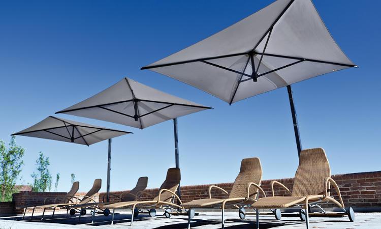 Ombrellone Rio ideale per hotel, residence