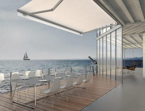 Tenda da sole per spazi esterni modello Areia