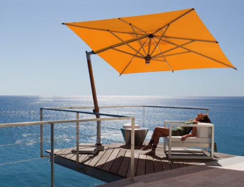 Ombrellone modello Ischia con rotazione di 360°