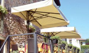 Mezz'ombra Classic, ombrellone con mezza copertura